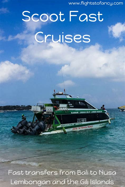 Fast Boat From Sanur To Gili Trawangan by Scoot Fast Cruises Tempting Death On The Fast Boat To