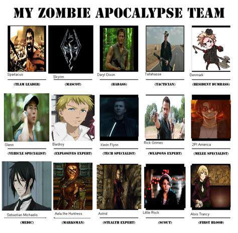 apocalypse zombie plan deviantart