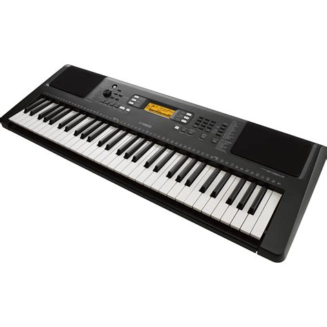 yamaha psr e363 yamaha psr e363 touch sensitive portable keyboard psre363 b h