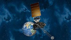 Lab technology on board space weather monitoring satellite