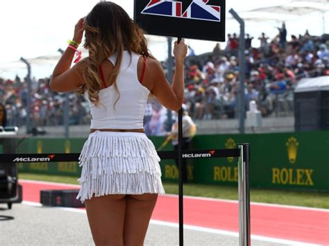 formula  usa grid girls  boostcruising