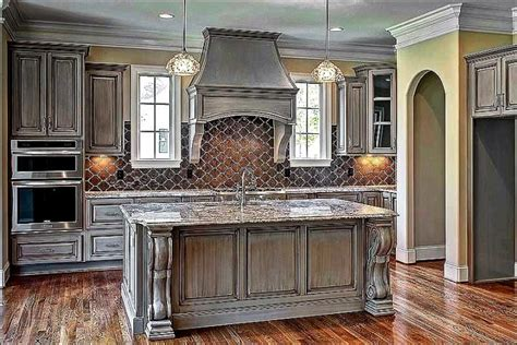 gray distressed kitchen cabinets painted grey kitchen cabinets kitchen cabinet colors 3918