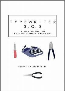 Typewriter Repair E
