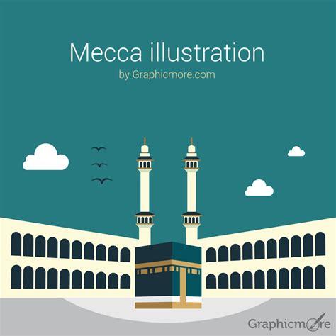 mecca illustration  vector file   graphicmore
