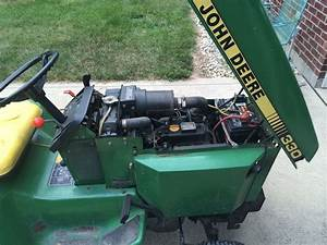 Replacing Tires On The John Deere Lawn Tractor