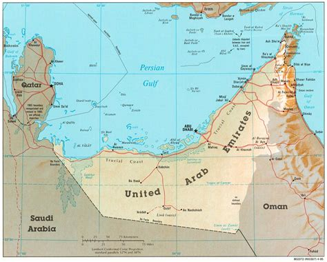 united arab emirates maps perry castaneda map collection
