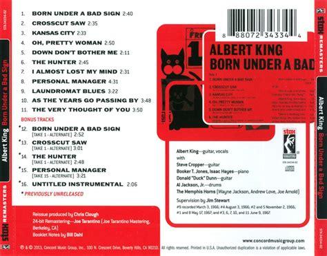 Born Under A Bad Sign [stax Remasters] Original Recording