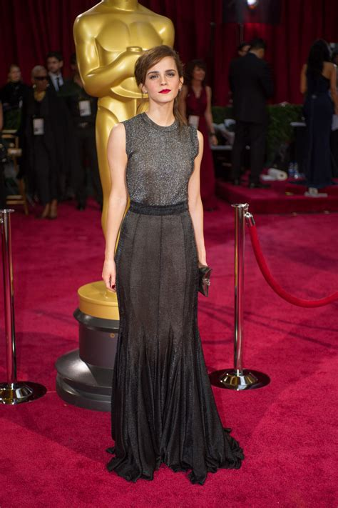 Emma Watson Oscars Red Carpet Photos