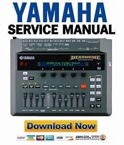 Yamaha Dtxtreme Drum Trigger Module Service Manual