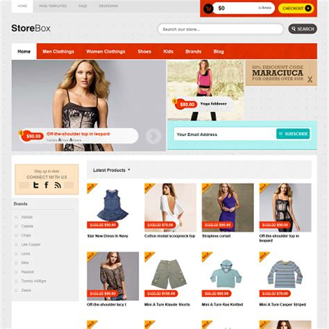 store box  commerce wordpress theme
