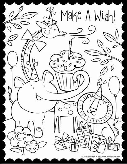 Coloring Birthday Pages Happy Super