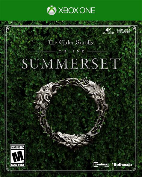 The Elder Scrolls Online Summerset Release Date Xbox One