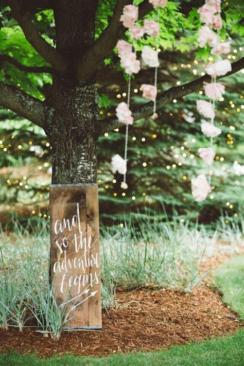 Elegant Rustic Backyard Wedding  Rustic Wedding Chic