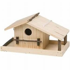Plan Nichoir Oiseaux : nichoir mangeoire oiseaux en bois bois poterie ~ Melissatoandfro.com Idées de Décoration