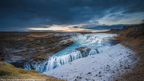 Gullfoss Waterfall Backgrounds by Interesting Facts About Gullfoss Just Facts