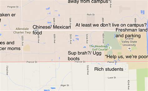 judgmental map  allendale mi