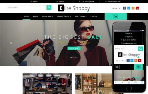home shoppe  shopping cart mobile website template