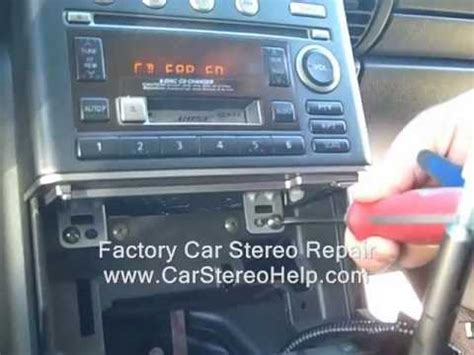 infiniti  stereo removal audio finisher ac repair