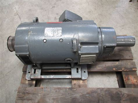 General Electric Dc Motors by General Electric 20 Hp Dc Motor Cd259at 1750 2300 Rpm 240v