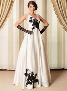 simple black ivory strappy v neck wedding dress 2015 With simple black wedding dresses