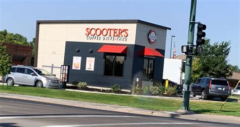 You can look at the address on the map. Scooter's drive-thru now open for business in GC - Greater Garden City