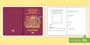 passport template passport template passport design holidays