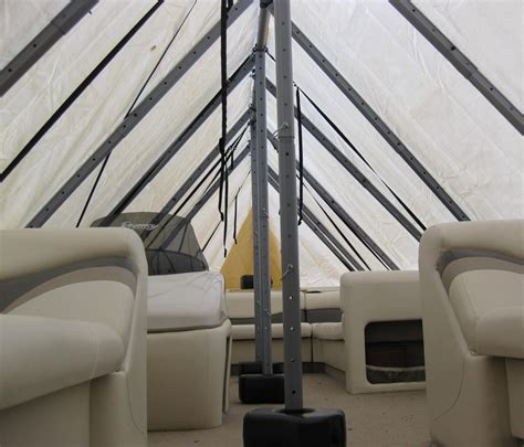 Navigloo Boat Shelter by Navigloo Boat Shelter For 25 Ft 26 Ft Pontoon Boats