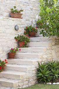 Garten Bepflanzen Ideen : garten deko ideen die garten oder haustreppe mit blumen ~ Lizthompson.info Haus und Dekorationen