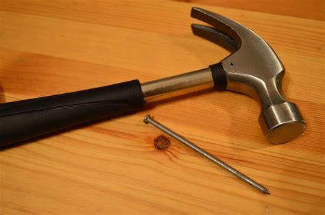 photo hammer repair nail maintenance  image
