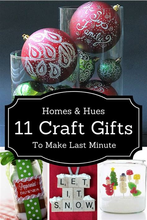11 last minute crafts that make great diy christmas gifts