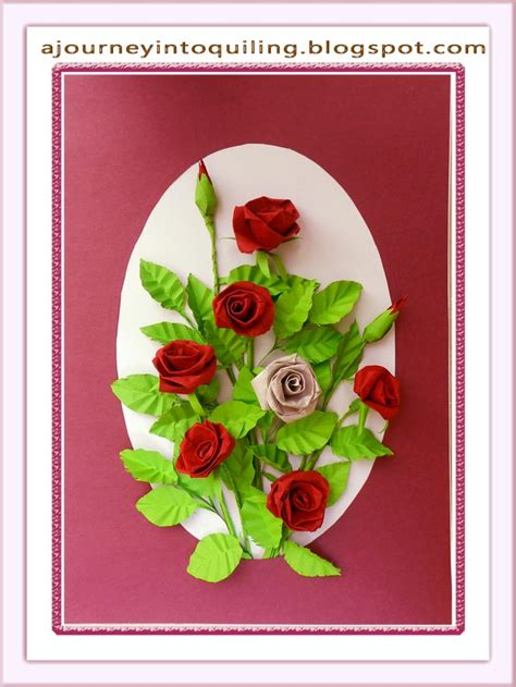 journey  quilling paper crafting quilled flower