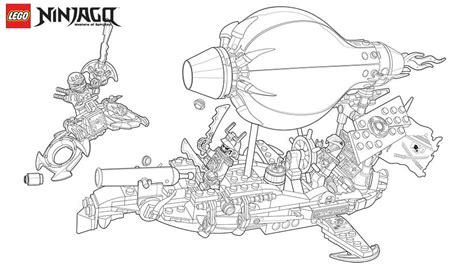 Ninjago Samurai X - Free Coloring Pages
