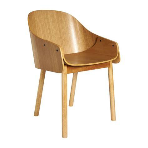 chaise de bureau habitat callahan chaises de salle à manger naturel bois habitat