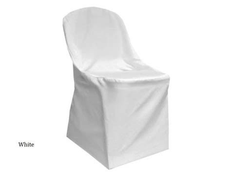 white folding chair cover waterford event rentals