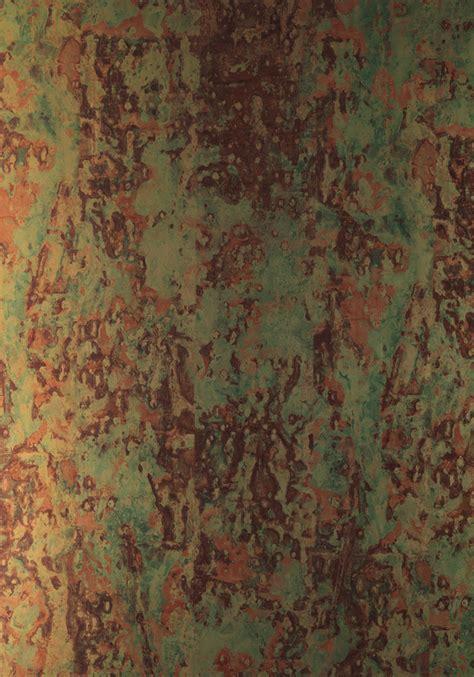 phc  spoiled copper metallic wallpaper  piet hein eek