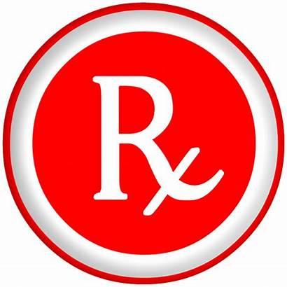 Rx Symbol Prescription Arial Clipart Clip Icon