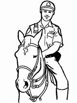 Police Coloring Officer Printable Boys Recommended Traffic sketch template