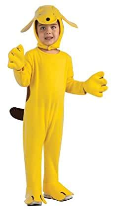 amazoncom spot  dog costume yellow toddler clothing