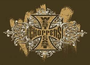 West Coast Choppers Logo Design Brown Graphics, Pictures ...