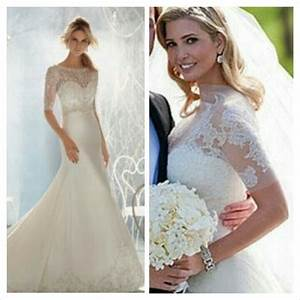 ivanka trump39s wedding dress weddings pinterest With ivanka trump wedding dress