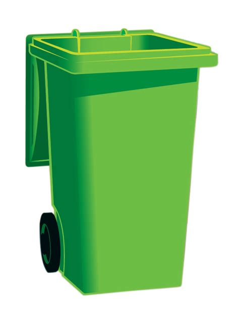 recycle bin clipart green clipart dustbin pencil and in color green clipart
