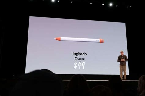 logitech unveils  crayon stylus   ipad