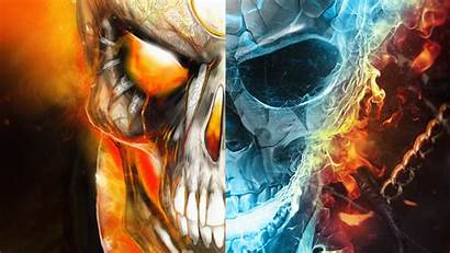 Ghost Rider Fire Wallpapers Background Marvel Water