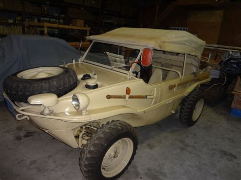 volkswagen schwimmwagen 1944 volkswagen schwimmwagen listed on ebay for 180k