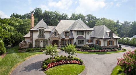 square foot french country mansion  bethesda md