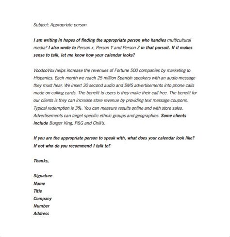 sample professional email templates