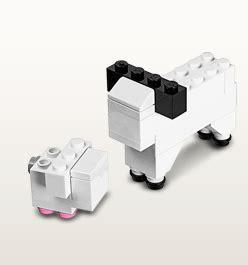 lego sheep mini kit  april