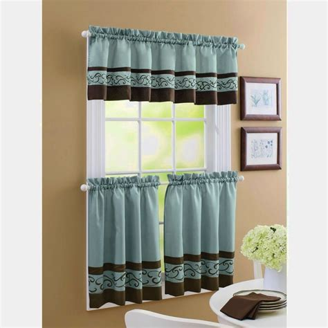 Kitchen Window Curtains Walmart by Kitchen Window Curtains Walmart Home Interior Inspiration