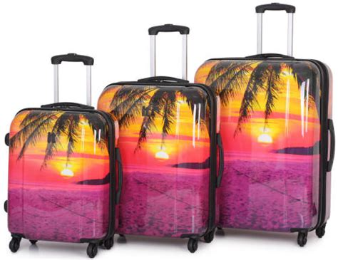 light suitcases for international travel paradise beach lightweight luggage by international
