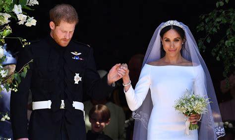 meghan markle  prince harry send gorgeous wedding photo